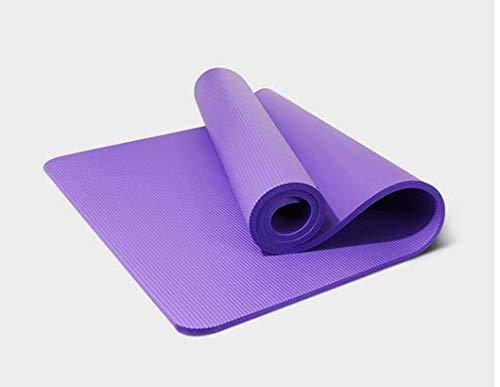 YanLong Yoga Mat Eco Vriendelijk Materiaal Smaakloze NBR multifunctionele anti-slip comfort netzak bundel touw, 183 * 61 * 1CM Thuis Gym Workout Pilates, Compact Lichtgewicht Met Gratis Draagband
