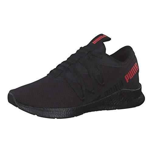 Puma Sneaker NRGY Star, Schwarz - Puma Black High Risk Red - Größe: 42.5 EU
