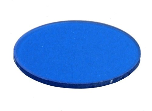 OMAX 31.8mm Frosted Blue Filter for Biological Microscopes