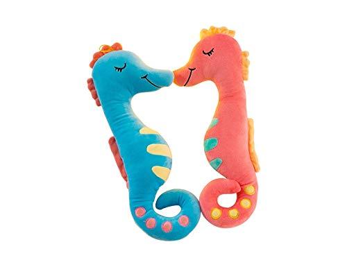 JingYuan Seepferdchen Plüsch Stofftier Seepferdchen Spielzeug Spielzeug Geschenk für Kinder – zufällige Farbe