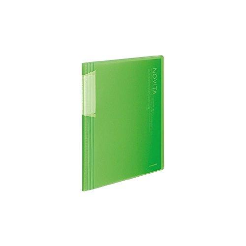 コクヨ ポケットブック ノビータ B5縦 固定式 20枚ポケット LG ラ-N21LG 【まとめ買い5冊セット】