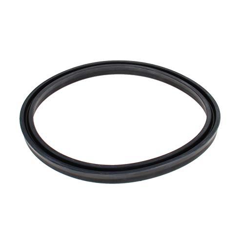 Othmro 1pcs Black Hydraulic Seal, Piston Shaft USH Oil Sealing O-Ring,120mm x 135mm x 9mm