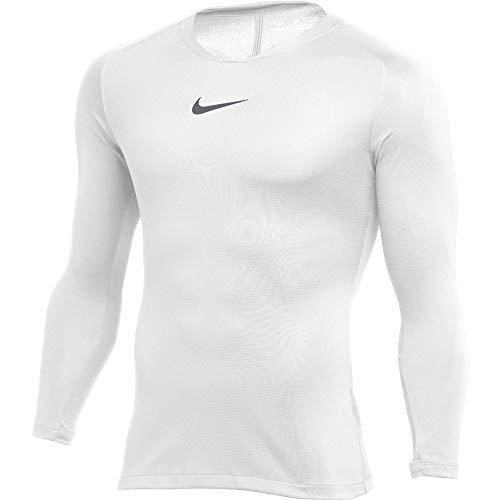 Nike Kinder Kurze Hose Pro Combat Hyperstrong Slider Shorts Trikot, White/Cool Grey, S