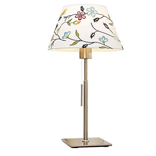 WZHZJ Retro lámpara de Mesa de Noche del Dormitorio del Hotel for lámpara de Mesa de la Sala lámpara de Escritorio de la Tabla Retro