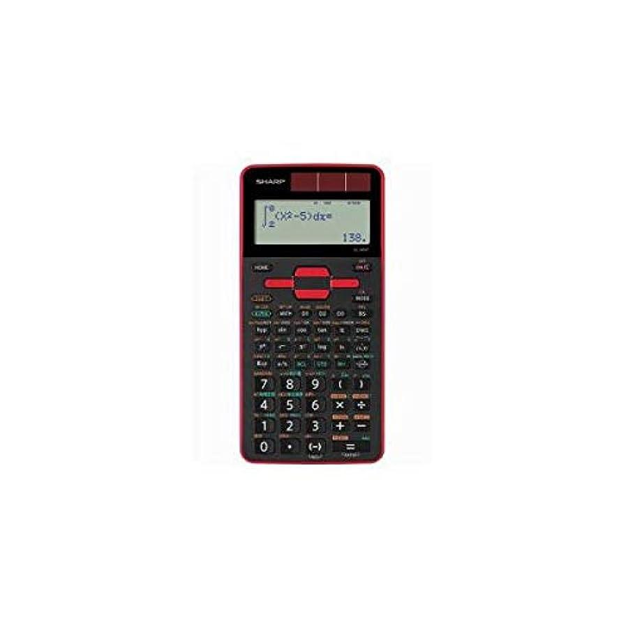 ワックスカブ現金(まとめ) SHARP EL-509T-RX 関数電卓 559関数スタンダードモデル(赤) 【×2セット】 生活用品 インテリア 雑貨 文具 オフィス用品 電卓 14067381 [並行輸入品]
