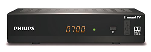 Philips DTR3502B digitaler DVB-T2 Full HD Receiver, Schwarz