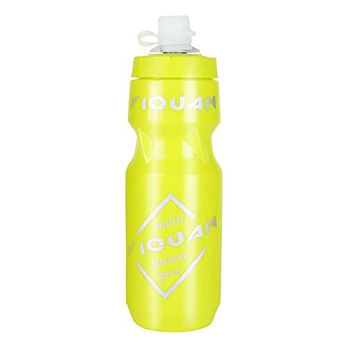 Pipidog Bottiglia Acqua, Bike Bottiglia d'Acqua, Borraccia Sportiva a Prova di Perdita Senza BPA per Tutto Il Fitness e Il Ciclismo - Tenere Le Bevande Freddo, più a Lungo