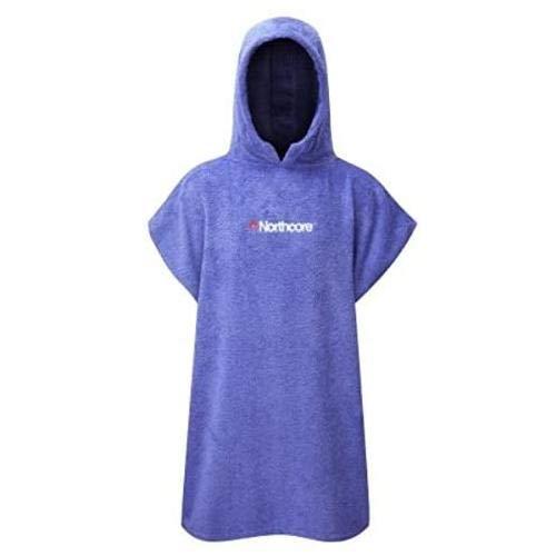 Northcore Beach Basha Changing Robe-Childrens Chaqueta, Unisex Adulto, Azul, Talla Única