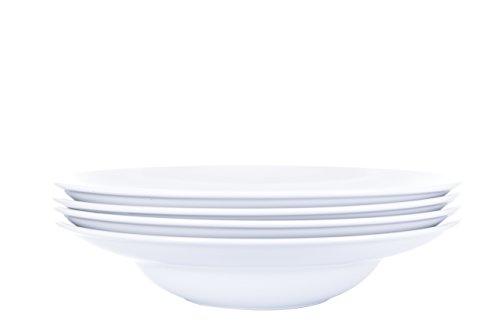 4 x Pastateller Taormina Ø 30cm, A bis B Ware mit kleinen Glasurfehlern