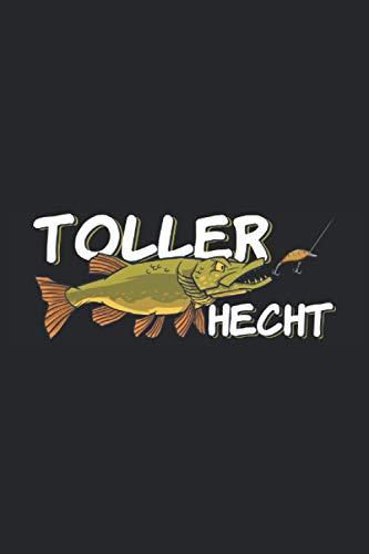Toller Hecht: Toller Hecht Kinder Angeln Notizbuch als Angler Geschenke für Kinder die Fische Angeln, Hechte und Wobbler lieben - Super Kinder ... 6'' x 9'' (15,24cm x 22,86cm) DIN A5 Liniert