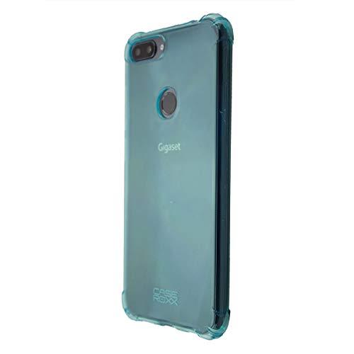 caseroxx TPU-Hülle für Gigaset GS195 / GS195LS, Handy Hülle Tasche (TPU-Hülle in blau)