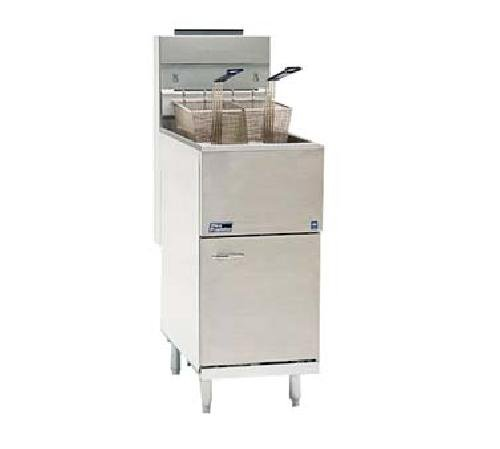 Pitco, 35 lb. floor model Liquid Propane Gas Fryer, 90,000 BTU