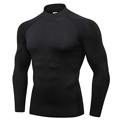 Guiran Hombre Camiseta De Compresión De Manga Larga Térmica Secado Rápido para Deportivos