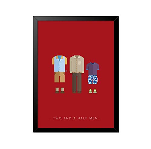 Quadro Poster Two and a Half Men 33x23cm