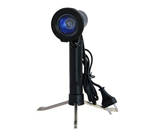 Ayex halogeen-koude spiegellamp tafellamp blauw - ayex GDT-03