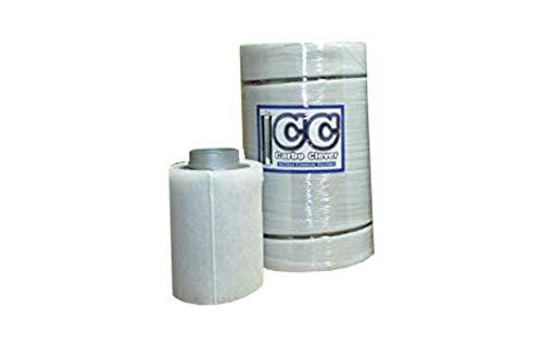 Weedness Carbo Clever Aktivkohlefilter Grow 2000 m3/h 250 mm Anschlussflansch – Lüftungsset AKF Filter Belüftungsset Grow Lüfter Abluft Rohrventilator