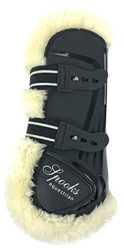 SPOOKS Tendon Boots Teddy (Farbe: black; Größe: full)