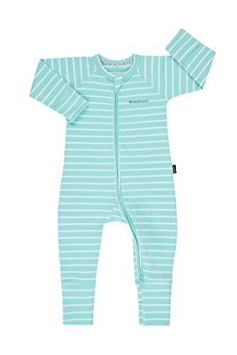 Bonds Baby Zippy - Zip Wondersuit, Jasmint/White, 0000 (Newborn)