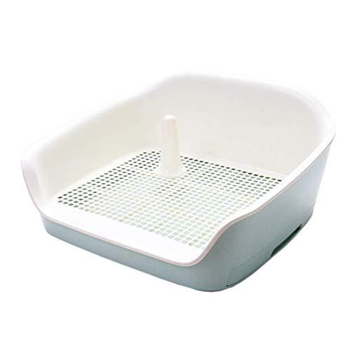 LT Hundetoilette Indoor-Training Schublade Haushalt Tablett Töpfchen Zaun leicht zu reinigen (Color : Green, Size : L)