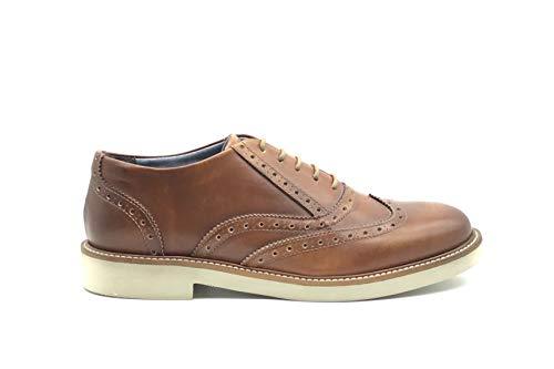 Frau - Zapato de Hombre en inglés, de Piel, Mod. 35l7