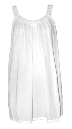 Lucy Short Cotton Nightgown by The Irish Linen Store