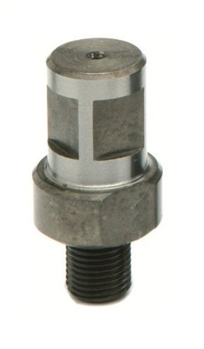 G&J Hall Tools 18Y170 Powerbor Weldon Chuck Adaptor, 1/2'-20 UN Thread Fitting, 3/4' Arbor, for All Electromagnetic Drilling Systems