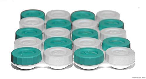Sports Vision's Kontaktlinsenbehälter – Flach Design CE-gekennzeichnet und FDA-zugelassen 10 Stück - 2