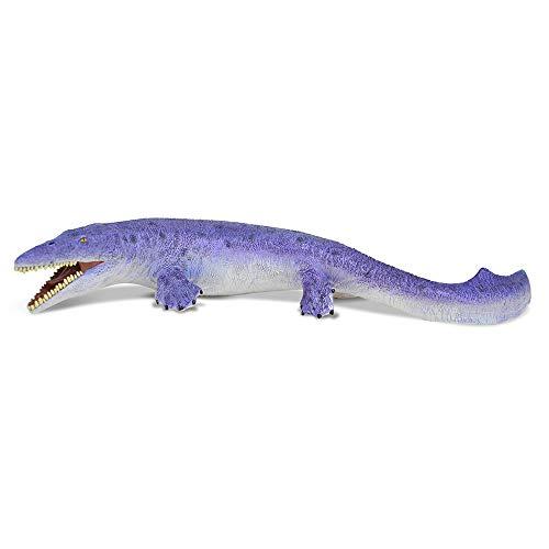 RECUR Tylosaurus Dinosaurio Modelo Figura de acción Animal prehistórico, Realista Antiguo Monstruo Marino Edutainment Regalo de cumpleaños para coleccionistas Niños de 3 años o más