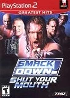 wwe , wwf , smack down, shut your mouth, thq, ps2 greatest hits, triple h