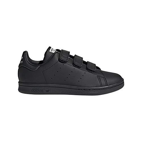 adidas Stan Smith CF C Zapatillas Deportivas, Core Black Core Black FTWR White, 32 Unisex niños