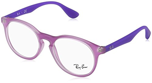 Ray-Ban Unisex-Kinder 0RY 1554 3672 46 Brillengestelle, Pink (Rubber Fucsia)