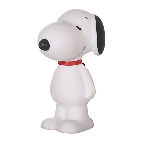 Peanuts for Pets Charlie Brown Snoopy Vinyl Squeaker Dog Toy | Squeaky Dog Toy for All Dogs | Charlie Brown Plastic Dog Toys for Aggressive Chewers - Fun and Cute Dog Chew Toy, White (FF13337)
