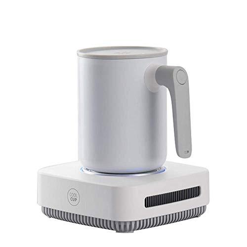 Posavasos De Calentamiento Taza de café caliente con válvula automática, Beverage calientaplatos Copa inteligente cálido cojín for el escritorio de oficina y Home uso de la oficina con tres ajustes de