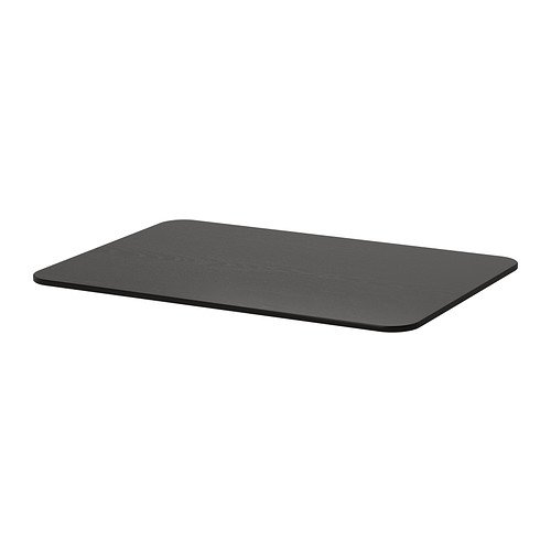 Ikea BEKANT - Table Top, Negro-marrón - 120x80 cm
