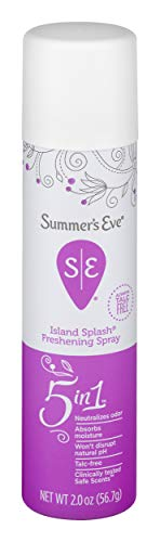 Summer's Eve Freshening Spray, Island Splash, pH Balanced, Dermatologist & Gynecologist Tested, 2 Ounce, Pack of 24
