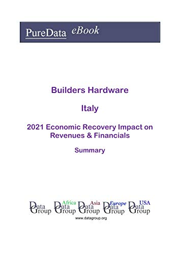 Builders Hardware Italy Summary: 2021 Economic Recovery Impact on Revenues & Financials (English Edition)