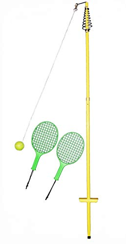Best Sporting Unisex Jugend gelb Circletennis-Twistball-4-teilig, 150-165 cm