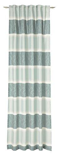 Decoratieve trends sjaal verborgen lus, stof, petrol, 245 x 137 cm