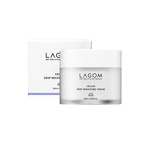 LAGOM(ラゴム) ラゴム ディープ モイスチャークリーム 60ml (高保湿クリーム) 日本正規品 白