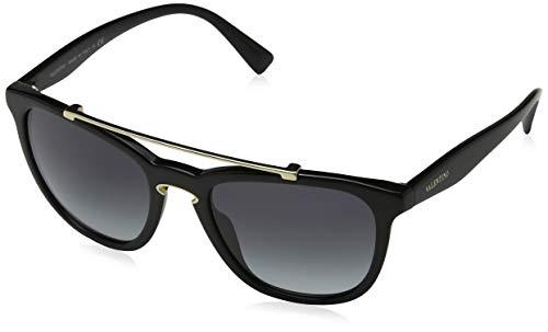 Price comparison product image Valentino VA4002 50018G Black VA4002 Square Sunglasses Lens Category 3 Size 54m