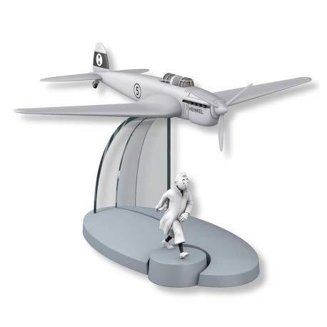 DataPrice Tintín 29564 - Avión de Guerra Heinkel, Cetro de Ottokar. Escala 1:100