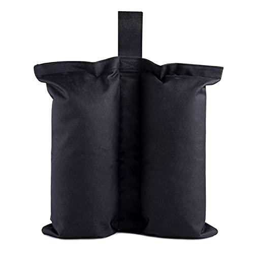 Fuaensm Sacs de sable pour tentes – Sac de poids pour pieds de baldaquin, sac de sable robuste, sac de poids pour tente Oxford, sac de poids pour meubles de terrasse, abri solaire, échelle de piscine