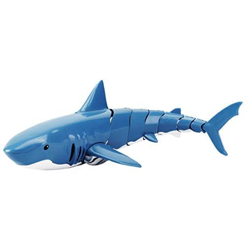 YYLI RC Boot Haifisch Spielzeug Für Kinder, 2.4G Ferngesteuertes Elektrisches Rennboot Für Pools Mit Simulations-Haifisch-Spoof-Spielzeug, Für Poolteichdekoration Oder Partyspielzeug-Partygeschenke