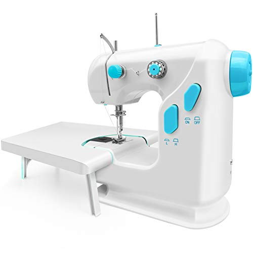 Best portable sewing machine for beginners (3.22 pounds). SYS Score: 8.5