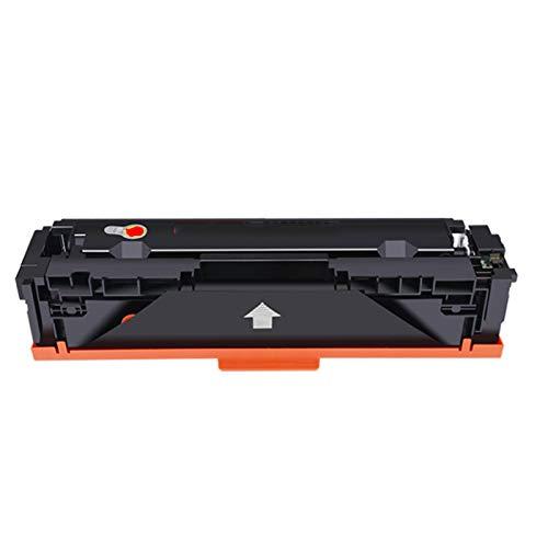 AXAX Toner CF500A Compatible con reemplazo de Cartucho de tóner HP CF500A para HP Color Laserjet Pro M254NW M254DW M280NW M281FDN M281FDW Impresora, Impresión excelente Magenta
