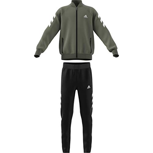 adidas Jungen YB XFG TS Sportoutfit, Verleg/Blanco, 176 (15/16 años)