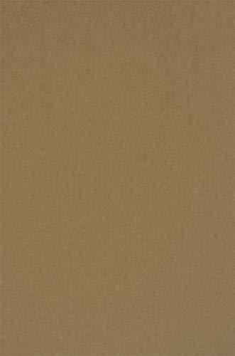 20 Blatt Sand-Braun recyceltes Kraftpapier 340g, DIN A4 210x297mm, ÖKO Retro Vintage Naturkarton, Bastel-Karton, Natur-braunes Recycling-Papier zum Basteln für Hochzeits-Karten und DIY Deko Projekte