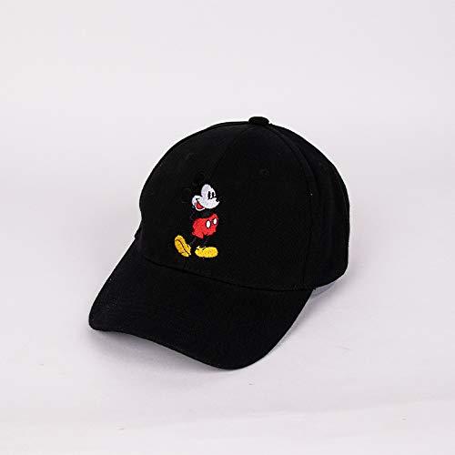 Sombrero para niños otoño Nuevo ratón de Dibujos Animados algodón Coreano niño niña bebé Sombrero Tendencia Linda Gorra de béisbol