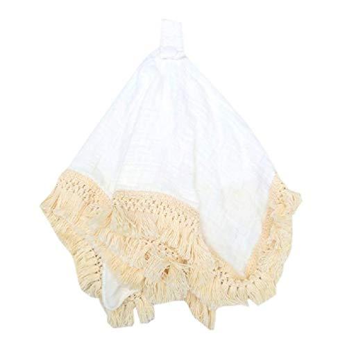 Baberos de algodón para bebés recién nacidos y pezones de alimentación para eructos