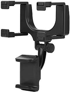 CQLEK Anti Shake & Fall Prevention 360 Degree Rotation Adjustable Anti Vibration Car Phone Holder for Rear View Mirror Mou...